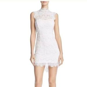 Free People Daydream White Lace Bodycon Dress
